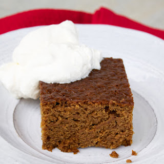 Old-Fashioned Gingerbread.