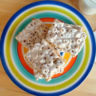 Caramel Nut Marshmallow Treats