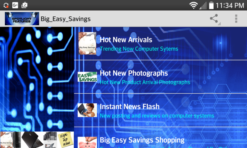 Big Easy Savings v1.3- screenshot
