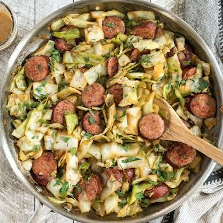 Kielbasa and Cabbage Skillet Recipe