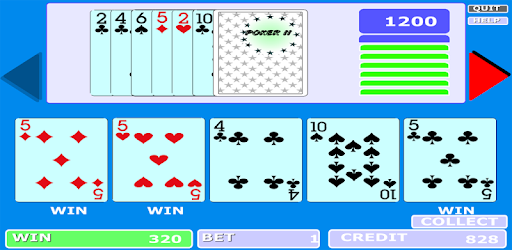 Old popular poker machine on your android device for free.
