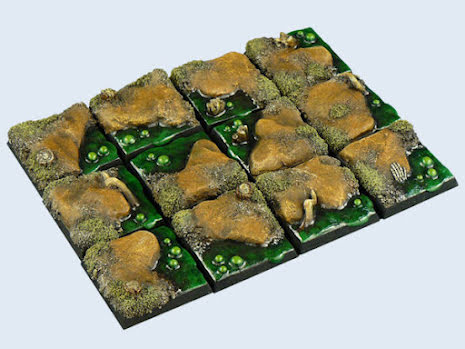 Swamp Bases, 25x25mm (5)
