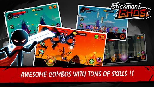 Stickman Ghost Ninja Warrior Action Game Offline 2.0 Mod Apk [DINHEIRO INFINITO] 2