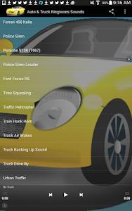 Auto & Truck Ringtones Sounds screenshot 13