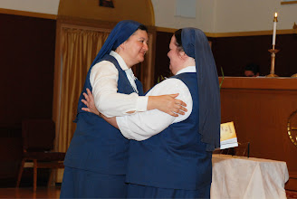 Photo: fraternal embrace