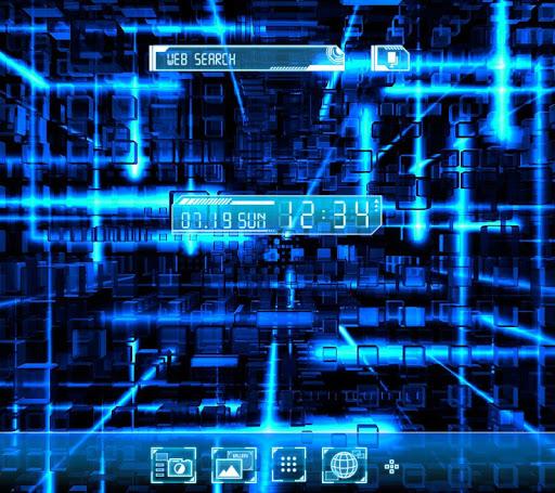 無料壁紙-Cyber Screenクールきせかえ・アイコン
