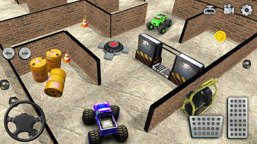 Code Triche jouet un camion Labyrinthe conduite 2020: camion mod apk screenshots 1