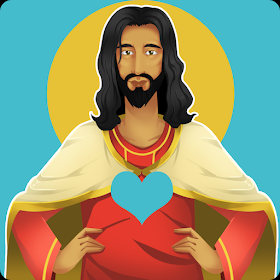 Jesus Speaks Scripture Stickers