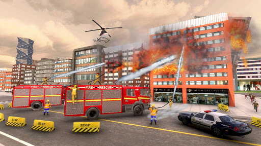 911 Fire Rescue Truck Driver Simulator 2018 1.0.2 screenshots hack proof 2