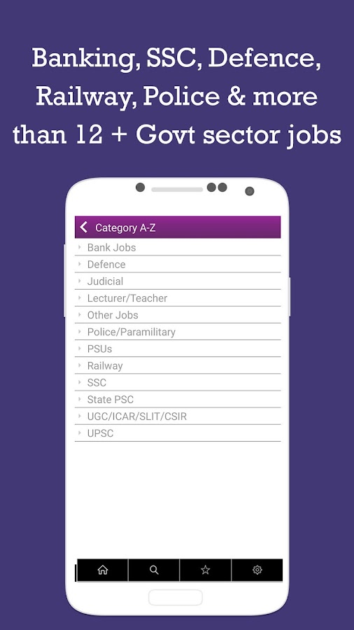 Sarkari Naukri Govt Job alerts- screenshot