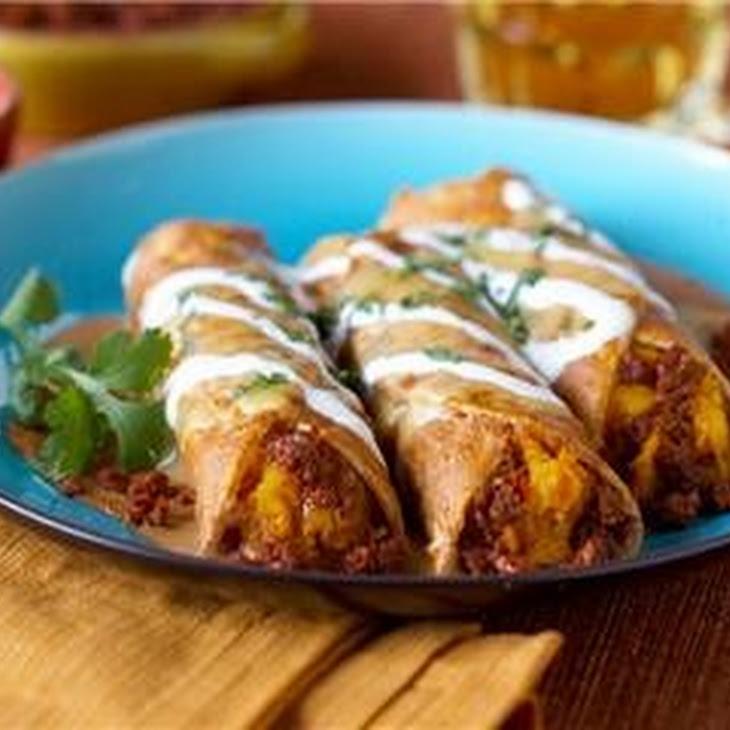 Lobster and Crab Enchiladas Recipe