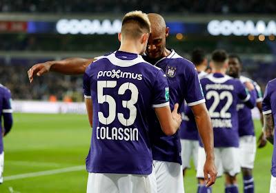 """Acheter un attaquant reste dans les plans d'Anderlecht : """"Colassin a du travail"""""""