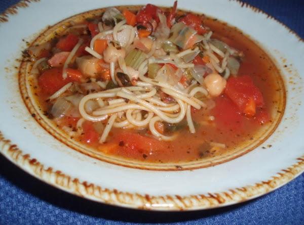 Real Italian Minestrone Soup Recipe
