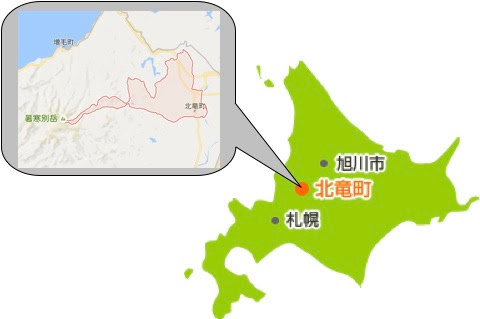 北竜町略図