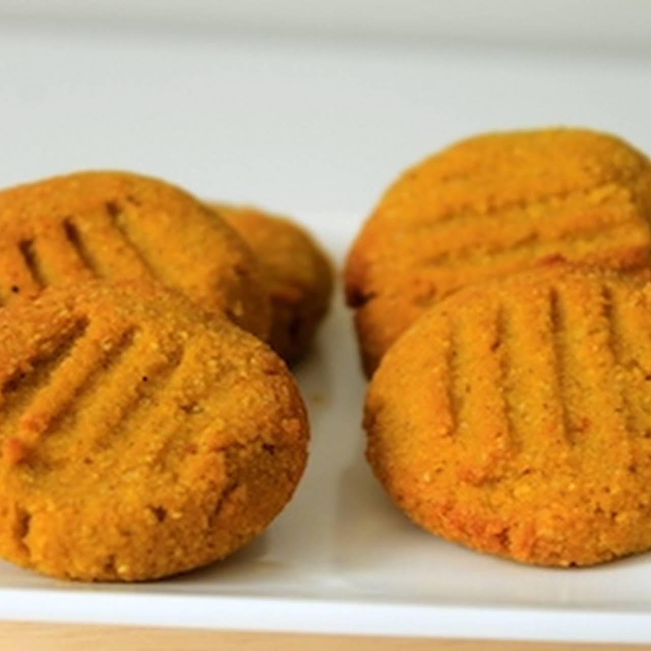 Sweetener Free Pumpkin Cookies