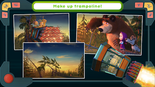 Masha and the Bear Mod Apk: We Come In Peace! (No Ads) 1.0.3 7