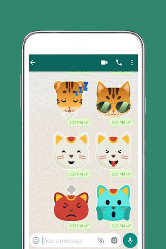 Free Messenger Whats 2019 Stickers  app download 1