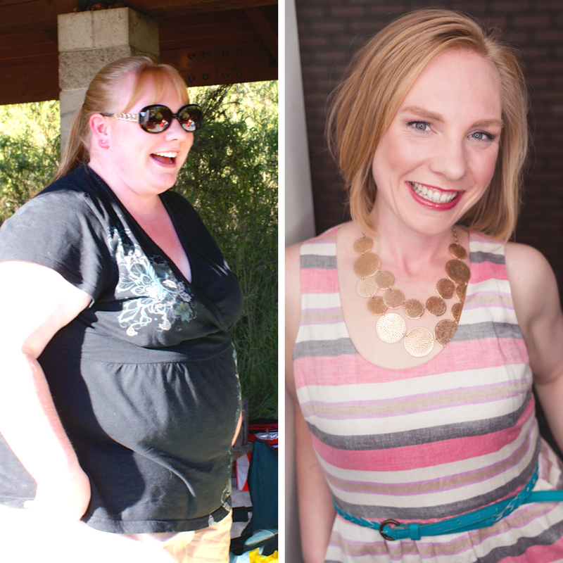 before and after weight loss results