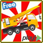BIG Crane Driving Fun Racing
