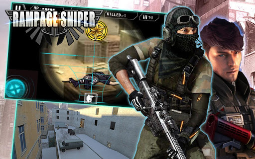 Rampage Sniper-3D Shoot Game