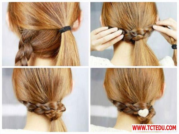 5 cách tạo kiểu đẹp, điệu và mát cho nàng tóc dài
