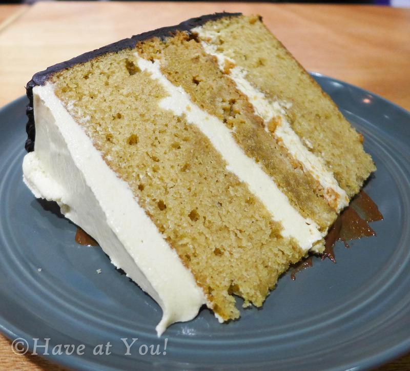 slice of PB Tower cake
