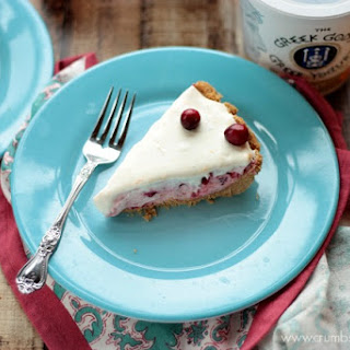 Cranberry Yogurt Pie