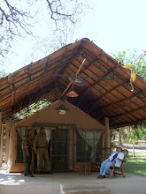 Photo: The tented accommodation at Kali River Camp at Dandeli 2006