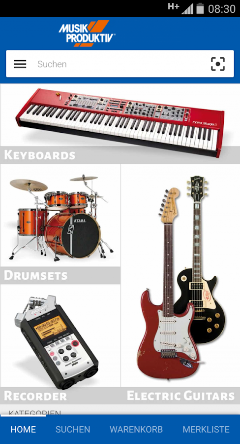music store musiker