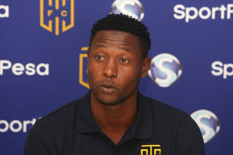 Masoud Juma during a Cape Town City FC press conference at Hellenic Greek Club on January 17, 2018 in Cape Town, South Africa.