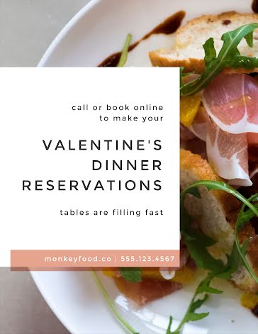Reserve Your Table Now - Flyer Template