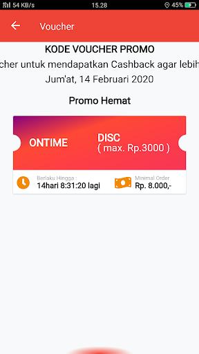 OnTime - Transportasi Online screenshot 1