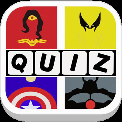 Guess the SuperHero Quiz New 拼字 App LOGO-APP開箱王