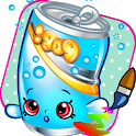 Coloring Pages Game of Shopkin icon