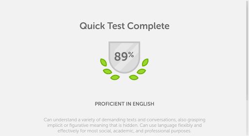 Duolingo English Test screenshot 13