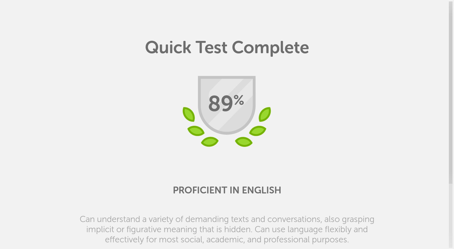 Duolingo English Test screenshot #13
