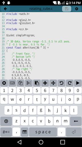 Mobile C [ C/C++ Compiler ] 2.5.2 com.dztall.ccr.android.admob apkmod.id 2