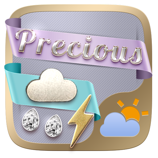 Precious Weather Widget Theme 個人化 App LOGO-APP開箱王
