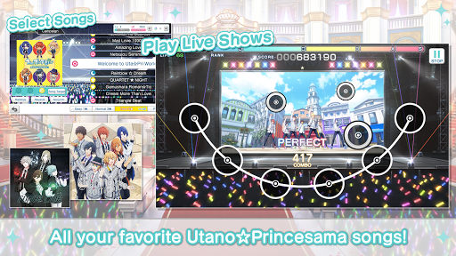 Utanou2606Princesama: Shining Live 2.3.0 screenshots 1