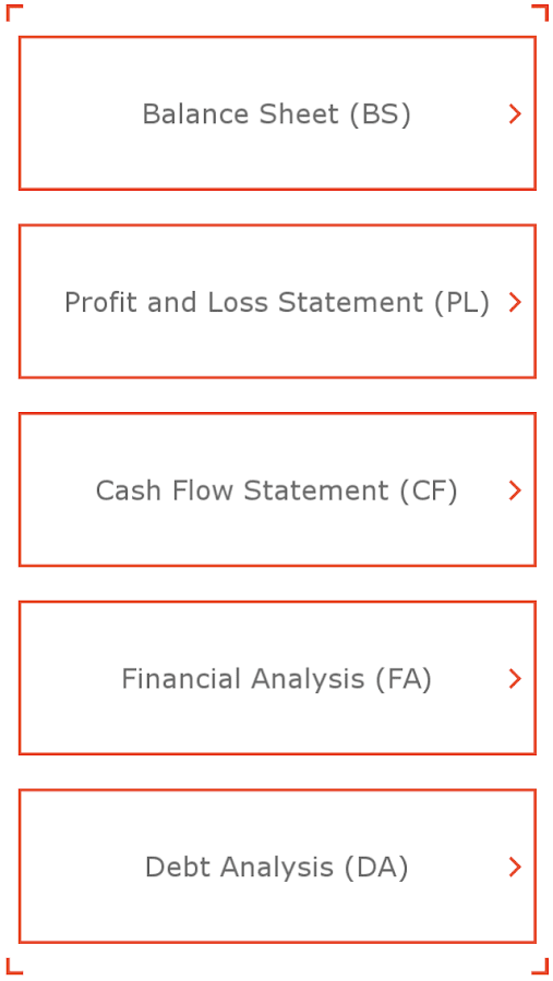 Financial analysis by example- screenshot