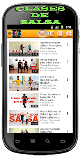 Latin Music and Dance Classes Screenshot