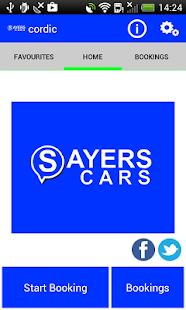 Sayers Cars East London Cabs- screenshot thumbnail