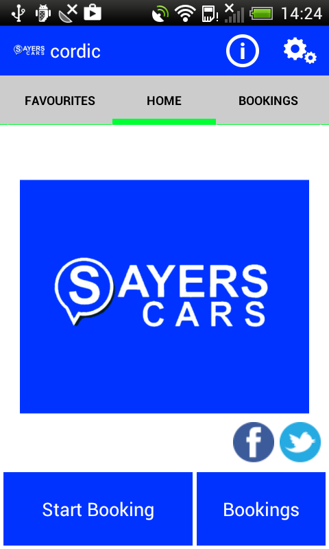 Sayers Cars East London Cabs- screenshot
