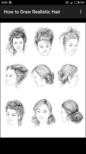 How to Draw Realistic Hair  screenshots 15