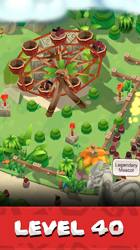 Stone Park: Prehistoric Tycoon android2mod screenshots 4