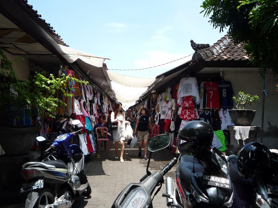 Bali, Indonesia, Local Shopping, Asia, Asian