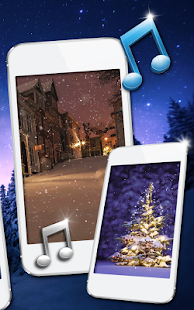 Snow Night Pro Live Wallpapers - náhled