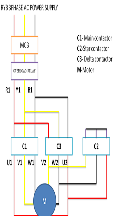 Star Delta Wiring Diagram – (Android Apps) — AppAgg on star delta grounding, star delta electric, star delta starter, star delta pump, star delta connection, star delta controller, star delta transformers, star delta circuits, star delta motor, star delta timer,