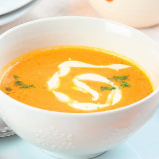 Carrot Soup-puree With Cream