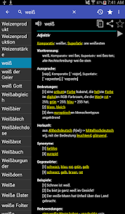 German Dictionary Offline- screenshot thumbnail